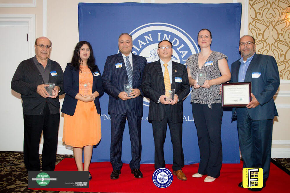 Winners of Immigrant Entrepreneur Award, September 26, 2018
